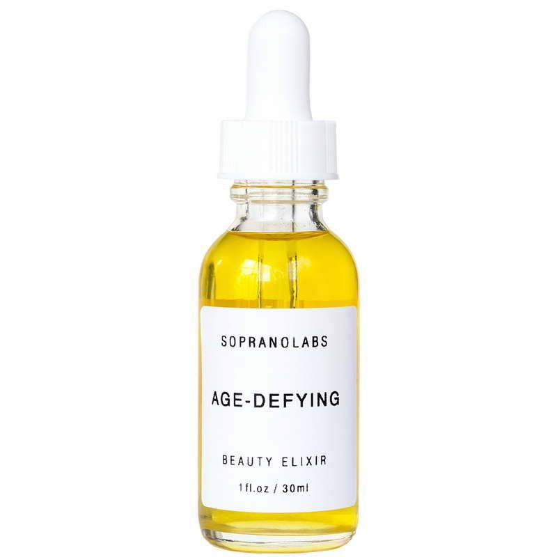 Age Defying serum vegan natural organic sopranolabs