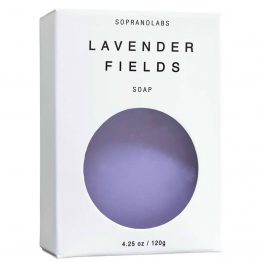 Lavender Fields soap vegan natural organic sopranolabs