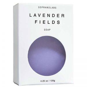Lavender Fields soap vegan natural organic sopranolabs