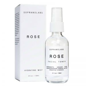 Rose toner vegan natural organic sopranolabs 02