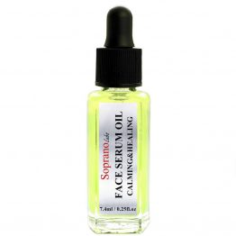 Calming Chamomile Serum Oil. Vegan natural organic SopranoLabs.