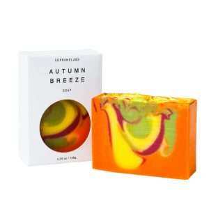 Autumn Breeze soap vegan natural organic sopranolabs