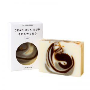 Dead Sea Mud Seaweed soap vegan natural organic sopranolabs