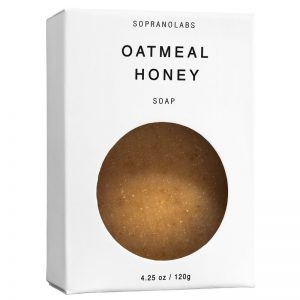 Oatmeal Honey soap vegan natural organic sopranolabs