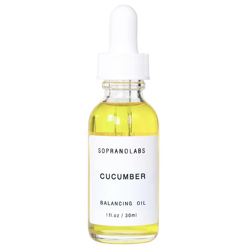 CUCUMBER SEED Vegan Virgin Organic Beauty Oil serum-sopranolabs