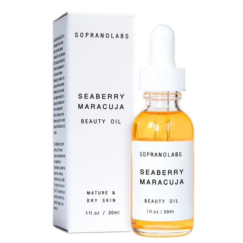 SEABERRY MARACUJA Vegan Organic Beauty Oil serum sopranolabs