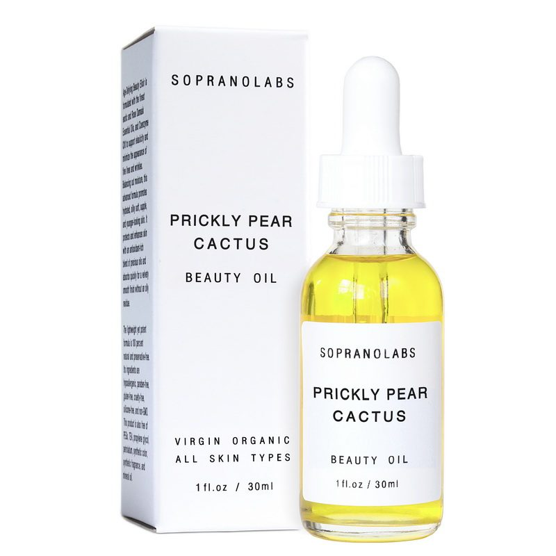 PRICKLY PEAR Cactus Organic vegan Beauty Oil serum-sopranolabs