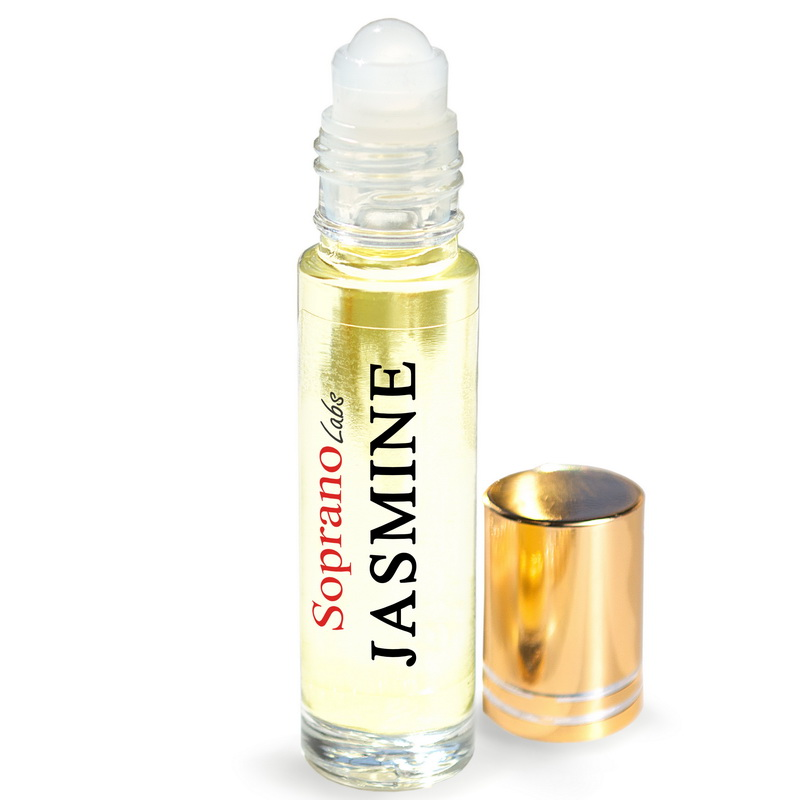 jasmine perfume oil vegan natural organic sopranolabs